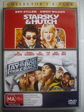 STARSKY & HUTCH / JAY & SILENT BOB STRIKE BACK - DVD -2-Pack - VGC - Ben Stiller