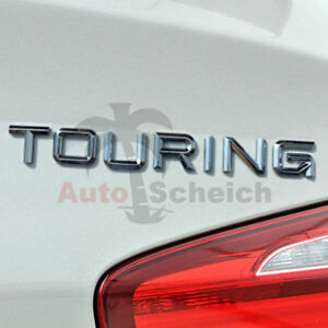 Touring Schriftzug 3D Emblem Aufkleber für BMW Motorsport M Power Performance