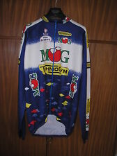 MG TECHNOGYM FAUSTO COPPI '96 MAGLIA JERSEY MAILLOT CYCLING CICLISMO LONG SLEEVE