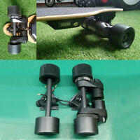 "DIY Dual 1500W Electric Longboard Drive Kit 83MM 90MM Wheel 7"" Trucks CNC Mounts"