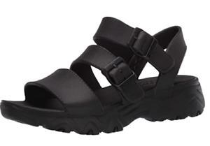 Skechers Cali Gear D'Lite 2.0-Molded 3-Strap Slingback W/ Luxe Foam Sandal Sz  8