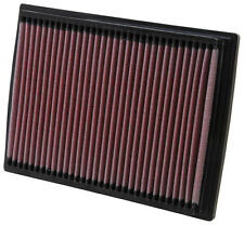 K&N Performance High Flow Drop-In Replacement Air Filter Washable Reuse 33-2201