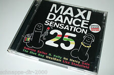 MAXI DANCE SENSATION  25 / 2 CD'S MIT TIC TAC TOE - DJ BOBO - CAPTAIN JACK ..