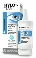 Hylo-Tear Eye Drops 10ml - Long Lasting Soothing Relief (Preservative Free)
