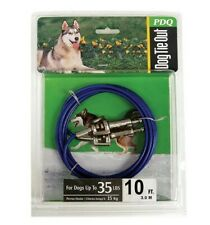 Tie Out Dog Medium 10 Foot Pdq, PartNo Q231500099, by BOSS PET PRODUCTS, Single