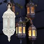 Metal Castle Moroccan Votive Candle Holder Hanging Lantern Wedding Centerpieces