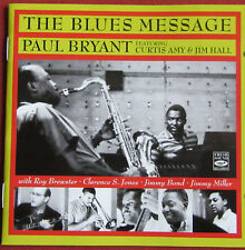 PAUL BRYANT   CD  THE BLUES MESSAGE