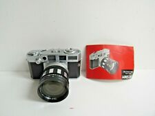 New ListingAires 35-V Film Camera w/Aires Tele Coral 1:3.5 f/10cm Lens & Manual