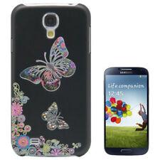 HardCase Diamond Style für Samsung i9500 Galaxy S4 Schmetterlinge schwarz bunt