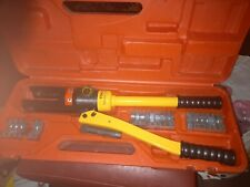 Hydraulic Crimping Tool Hydraulic Compression Tool YQK-300 with dies and case