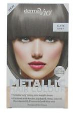 Derma V10 metallic colour hair dye Various Shades PACK OF 2