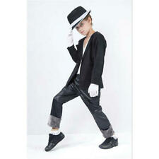 Childrens Michael Jackson Fancy Dress Costume Superstar Childs Outfit L