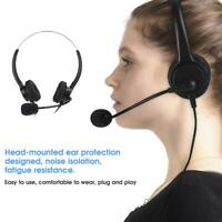 Wired Tablet Headset Headphone with Microphone for Smart Phone Tablet Laptop PC