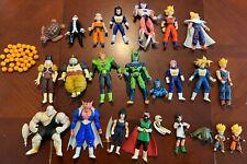 Irwin Dragon Ball Z DBZ Lot of 19 Figures - Goku Gohan Frieza Vegeta Cell Majin