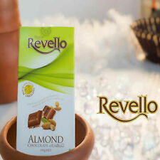 RITZBURY REVELLO ALMOND RICH MILK CHOCOLATE 100g/3.5oz