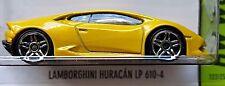 Hot Wheels 2015 HW Workshop Lamborghini Huracan LP 610-4 Yellow 1st Edition 1:64