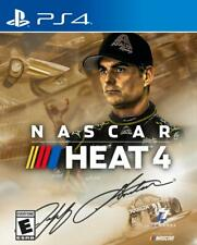NASCAR Heat 4 GOLD Edition PS4-Comes with tracking and crush resis