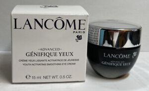 Lancome Advanced Genifique Yeux Eye Cream Full Size 0.5oz/15ml GWP NIB