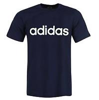 Adidas Navy Mens Linear Tshirt Uk Size XL