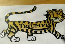 (1) TRIUMPH TIGER CUB DECAL