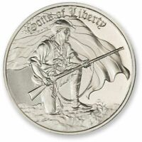 1 - 2 oz .999 Silver Round - Sons of Liberty - Ultra High Relief - BU