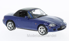 Mazda MX-5 Roadster, metallic-blau, RHD, 2001 - 1:43 First 43 Models  >>NEW<<