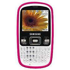 Amzer Hot Pink Silicone Case for Samsung Freeform R350