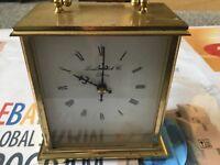 London Clock Company Brass Battery Quartz Carriage Clock