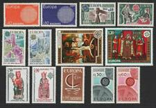 More details for andorra (fr) 1966, 67, 70, 74, 75, 76, 77 europa sets mnh. cat approx £176.