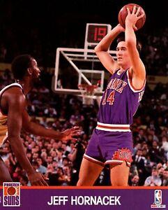 Jeff Hornacek Phoenix Suns 1991 Unsigned NBA Hoops 8x10 Glossy Cardstock Photo