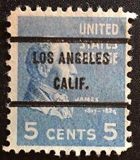 Los Angeles, California Precancel - 5 cents Prexie (U.S. #810) - CA