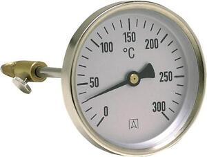 Rauchgas Thermometer 0- 300 C Rauchgasmessung Messung Rauchgasthermometer Afriso