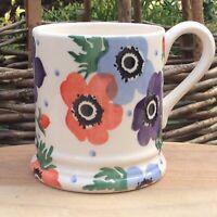 EMMA BRIDGEWATER . Liberty Anemone . 1/2 pint MUG . Flowers . spongeware