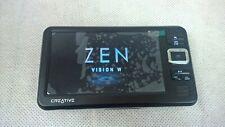 Creative Zen Vision: W negro (30GB) Digital Media Player