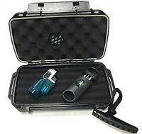 F.e.s.s Fess Trident Gift Set Travel Cigar Humidor Waterproof Holder Case