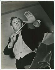 Charles Laughton (Actor): Original Photo as a Conductor!