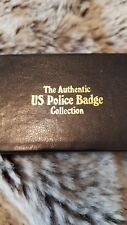 THE AUTHENTIC US POLICE BADGE COLLECTION