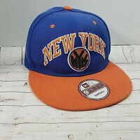New Era Orange~Blue New York 9FIFTY Snapback Adjustable HAT CAP