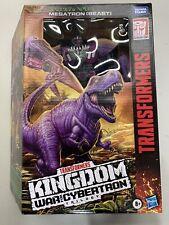 In Hand US Seller - Transformers WFC Kingdom LEADER Class Beast Wars MEGATRON