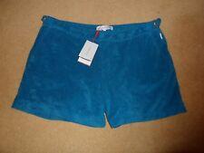 Nouveau Orlebar Brown Setter Eponge Modèle Dive Bleu Casual Beach Shorts 38 £ 150