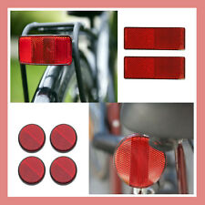 Cycle Bike Bicycle Reflector Reflective Light Strips Utility Front Rear Stick On