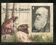 Jersey Durell & Darwin 35 Years Of The Darwin Initiative S/S Mint Nh