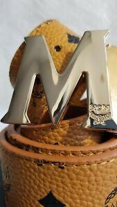 MCM Belt-Cognac