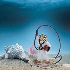 Aquarium Fish Tank Sea Treasure Diver Air Action Ornament Decoration Resin Gift