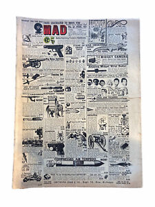 MAD Magazine #21 March 1955 Fair  Condition