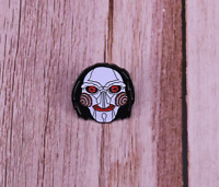 Saw Billy Enamel Pin Jigsaw Horror Movie Lapel Pin Halloween Goth Pin