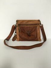 Fossil Long Live Vintage Sasha Crossbody Bag Saddle Brown
