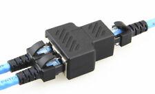 RJ45 Splitter Adapter 1 to 2 Dual Female Port CAT 5/CAT 6 LAN Ethernet Convertor