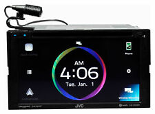 "JVC KW-V950BW 6.8"" DVD Car Monitor Bluetooth Receiver w/Wireless Carplay/Android"