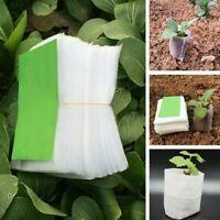 Seedling-Raising Bags Nursery Bag Pots Pouch Garden Supplies 100Pcs/set Home Kit